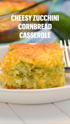 Vegetable Dishes, Vegetable Recipes, Beef Recipes, Vegetarian Recipes, Cooking Recipes, Cornbread Casserole, Casserole Dishes, Casserole Recipes, Zucchini Cornbread