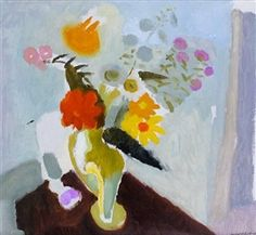 View Still life by Ivon Hitchens on artnet. Browse upcoming and past auction lots by Ivon Hitchens. Painting Still Life, Paintings I Love, Flower Paintings, Flower Words, Flower Art, Still Life Flowers, Painting Videos, Abstract Flowers, Art Market