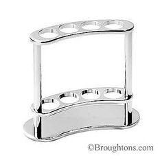 Digital Art Gallery Samuel Heath Freestanding Toothbrush Holder Polished Chrome bathroom