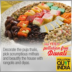 Sureshot ways to a #PollutionFreeDiwali Share your joys.