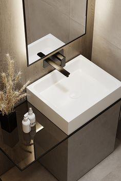 - rcSubbota - on Behance Washroom Design, Bathroom Tile Designs, Bathroom Design Luxury, Modern Bathroom Design, Minimalist Bathroom Design, Bathroom Ideas, Indian Bathroom, Flur Design, Apartment Projects