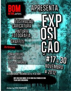 BomRetiro.Artes - Exposição de 17 a 30 de novembro Pintura Graffiti, 30, November, Rolodex, Fotografia, Events, Artists