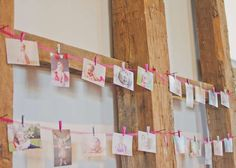 B's Pink Ombre 1st Birthday | CatchMyParty.com