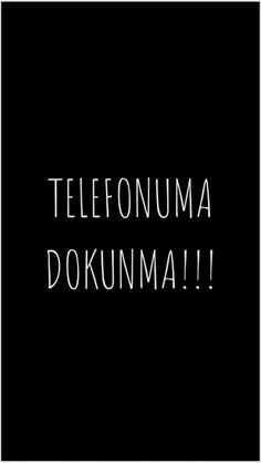 Wallpaper telefonuma dokunma Full HD - Best of Wallpapers for Andriod and ios Funny Phone Wallpaper, More Wallpaper, Galaxy Wallpaper, Aesthetic Iphone Wallpaper, Screen Wallpaper, Wallpaper Quotes, Dont Touch My Phone Wallpapers, Most Beautiful Wallpaper, Great Backgrounds