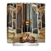 Sydney Town Hall Organ Shower Curtain by Jenny Setchell