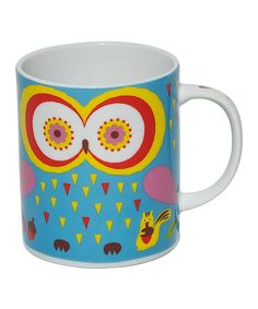 Look at this Blue Jewel Owl 8-Oz. Mug on #zulily today!