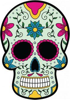 Sticker Calavera - Tete De Mort Mexicaine 9 - ref.d7447 | MPA Déco