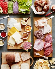 Game Day Sandwich Bar - What's Gaby Cooking