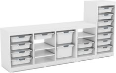 Kiskreo - modulární systém organizace prostoru | Katalog Ambra Shelving, Home Decor, Homemade Home Decor, Shelves, Shelf, Open Shelving, Decoration Home, Shelving Units, Interior Decorating