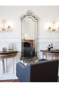 Hair studio in Paris ❤❤ #home#hair#salon ideas