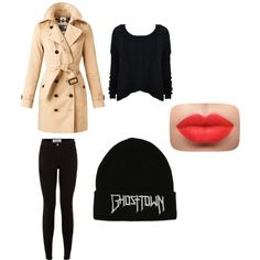 cool by alpa-jhala on Polyvore featuring polyvore fashion style Burberry