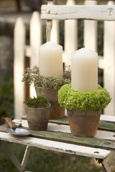 simple outdoor Christmas decoration