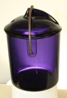 ANTIQUE FRUIT JAR PURPLE