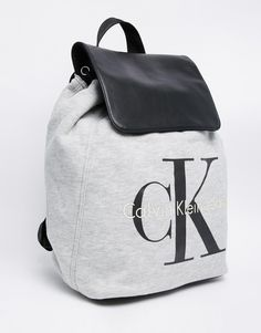 http://www.newtrendclothing.com/category/backpack/ Image 2 of Calvin Klein Jeans Backpack in Jersey