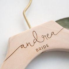 Engraved Bride Hanger, Bridal Wedding Dress Hanger, Best bridal Shower Gifts