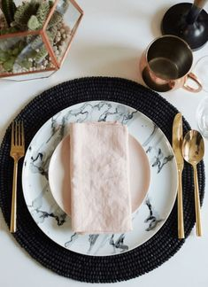 Marble has appeared on our dinner tables too, but closer that the table, we're eating off it too! Although its unlikely you'll get a real marble plate in the average home, sales of  marble-look porcelain are expected to soar this season.