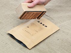 Bag Stamping Jacu Coffee Roastery - Visual identity/Branding by Tom Emil Olsen, via Behance