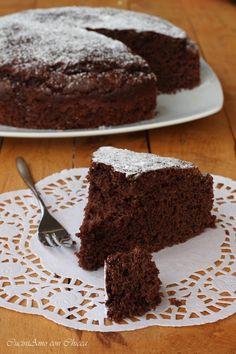 Torta soffice cioccolato e ricotta |CuciniAmo con Chicca