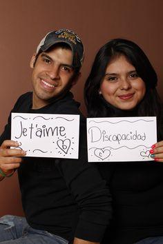Jet'aime / Disability, Cesar Diaz y Diana Lopez, Estudiantes, Monterrey, México.