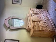 Pine Dresser, Farmhouse, Home, Ad Home, Homes, Cottage, Haus, Plantation Homes, Houses