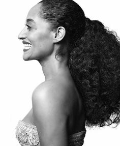 Tracee Ellis Ross. First African American woman to win a Golden Globe for best actress in a comedy since 1983.