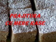 Prajitura cu mere rase (reteta video), Rețetă Petitchef Krispie Treats, Rice Krispies, Cereal, Cooking Recipes, Breakfast, Desserts, Food, Romania, Bakken