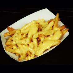 Cheese fries...