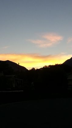 September 24, 2014-Sunrise this morning.  A quick photo can't do it justice but I can't imagine anything topping it today.