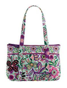My Vera Bradley pattern, Viva la Vera Betsy bag.  LOVE it!