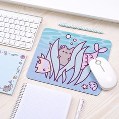 ← Shop Link in Bio ← Looking to give your workspace a summery makeover? Shop now at @heychickadee! Pusheen Love, Pusheen Cat, Pusheen Stuff, Pusheen Shop, Pusheen Stormy, Diy Mouse Pad, Cute School Supplies, Squishies, Fat Cats
