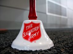 Ring my bell. The Salvation Army is the only cause I support whose brand and outreach I can summarize with a sound. That's impressive.