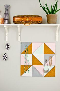 DIY: Schmuckboard von Leelah Loves | DaWanda Blog