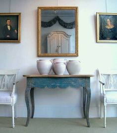 "soyouthinkyoucansee: ""Gustavian Swedish Style 
