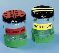 Recycled bug jar for kids  Journey One - Daisy Flower Garden  Chapter 4 - Pg. 60 - Ladybug
