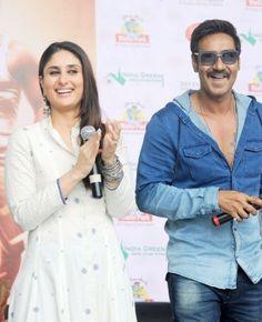 Ajay, Kareena Promote Singham Returns In Ahmedabad | Bollywood | Slide 2 | Indiatimes Mobile