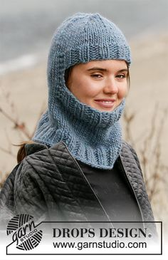 Winter Knights / DROPS - Free knitting patterns by DROPS Design Best Picture For knit kids su Baby Cardigan Knitting Pattern Free, Chunky Knitting Patterns, Knitting Stitches, Free Knitting, Baby Knitting, Drops Design, Knitted Balaclava, Knitted Hats, Knit Crochet