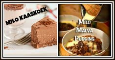 """Search Results for """"Milo koek"""" – Kreatiewe Kos Idees Milo Recipe, Malva Pudding, South African Recipes, No Bake Desserts, Cheesecake Recipes, Cake Cookies, Yummy Cakes, No Bake Cake, Cooking Recipes"""
