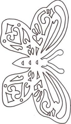 Schmetterling Scroll Saw Patterns Free, Doodle Art Drawing, Bead Embroidery Patterns, Butterfly Template, Paper Lace, Silhouette Portrait, Scroll Design, Butterfly Flowers, Colorful Drawings