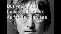 Working Class Hero- John Lennon- l Lyrics - YouTube