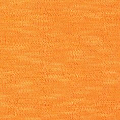 Soft Slub Sweater Knit Tangerine from @fabricdotcom  This sweater knit fabric is perfect for sweaters, scarves, hats and tops. It features a soft hand and 75% stretch and 25% vertical stretch.