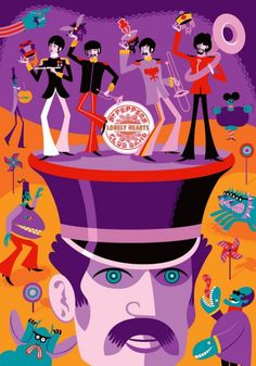 Josh Agle Shag Beatles May I Introduce to You Poster Signed 150 Beatles Poster, Die Beatles, Beatles Band, Beatles Lyrics, Beatles Party, Omg Posters, Band Posters, Music Posters, Mystery