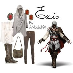 Yes PLease (: Assasins Creed!!!+Fashion!!! =Happy Erin Ezio from Assassins Creed Brotherhood
