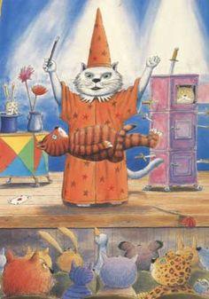 Circus Postcard.  Art Gallerie van Muset Postersquare