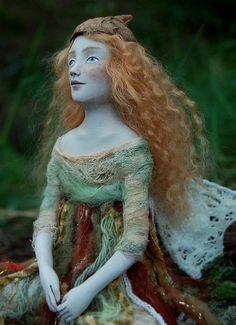 paper clay doll by cristinastreasures (etsy)