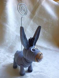 Papírvilág: papír állatkák / иглами миниатюрный 3D животные