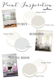 Benjamin Moore Paint Inspiration // Best Paint Colors // Neutral Paint Colors // Interiors - Lynzy & Co.