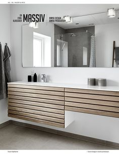 LOOKBOOK® 2018 (NORSK) | Svane Kjøkkenet—Side 142 Double Vanity, Bathtub, Bathroom, Kitchen, Inspiration, Instagram, Design, Standing Bath, Bath Room