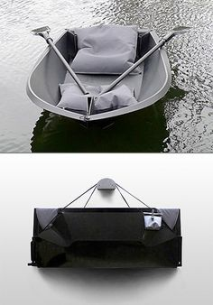 Foldboat is a flat-pack leisure boat designed for flat water environments and can be assembled in a very short time. / TechNews24h.com