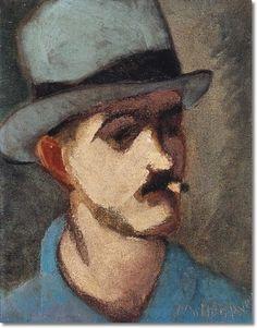 """Self Portrait""   Milton Avery, 1930"