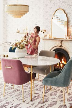 Modern Dining Room Chairs That Will Change Your Home Decor Dining Room Design, Dining Room Chairs, Dining Room Furniture, Table And Chairs, Home Furniture, Velvet Dining Chair, Office Chairs, Lounge Chairs, Comfortable Dining Chairs